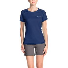 VAUDE Hallett II - T-shirt manches courtes Femme - bleu